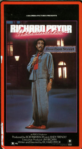 Richard Pryor: Here And Now VHS