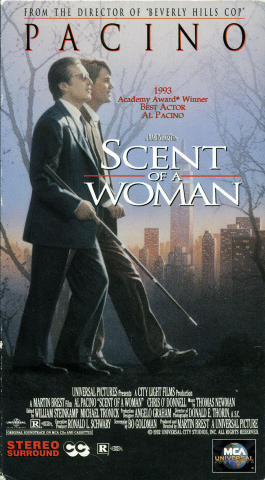 Scent Of A Woman VHS