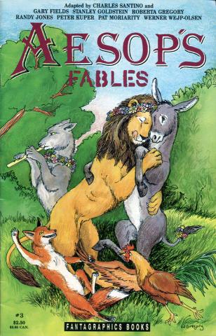 Fantagraphics: Aesop's Fables #3