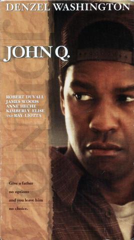 John Q. VHS