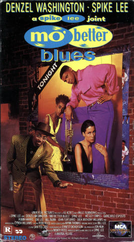 Mo' Better Blues VHS