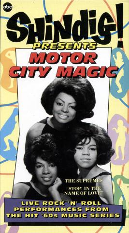 Shindig! Presents Motor City Magic VHS