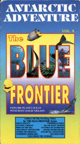 Antarctic Adventure:  The Blue Frontier VHS