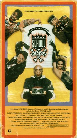 School Daze VHS