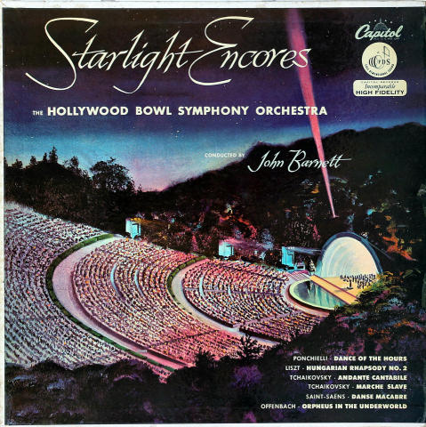"""Hollywood Bowl Symphony Orchestra Vinyl 12"""""""