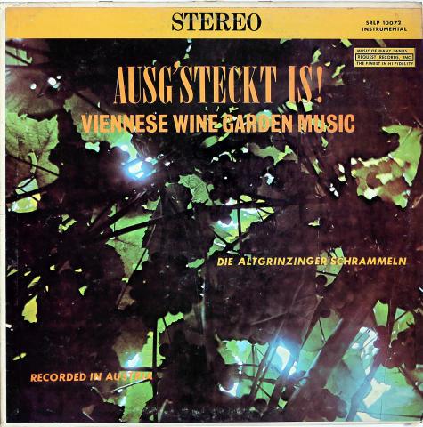 """Die Altgrinzinger Schrammeln Vinyl 12"""""""