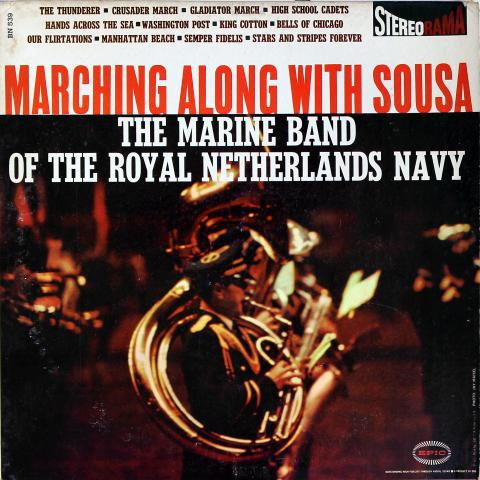 "The Marine Band of the Royal Netherlands Navy Vinyl 12"""