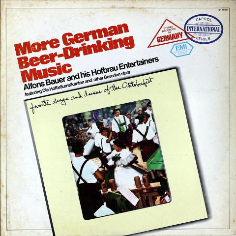 """More German Beer-Drinking Music Vinyl 12"""""""
