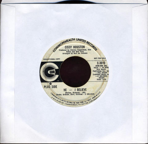 "Cissy Houston Vinyl 7"" (Used)"