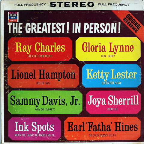 "Ray Charles Vinyl 12"""