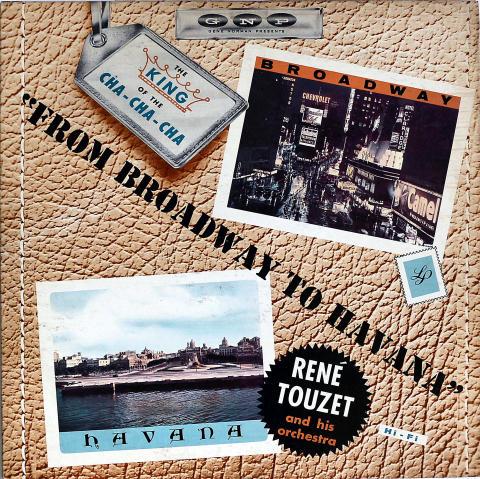 """Rene Touzet and His Orchestra Vinyl 12"""""""