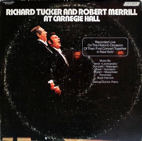 "Richard Tucker Vinyl 12"""