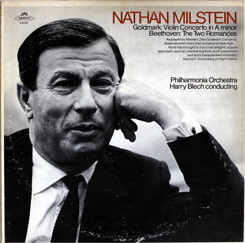 """Nathan Milstein Vinyl 12"""""""