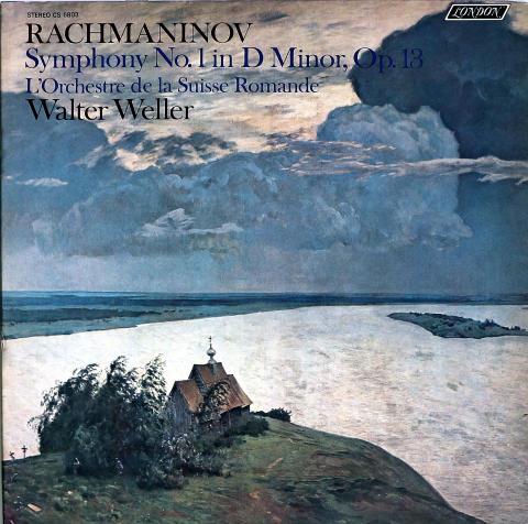 """Sergei Vasilievich Rachmaninoff Vinyl 12"""""""
