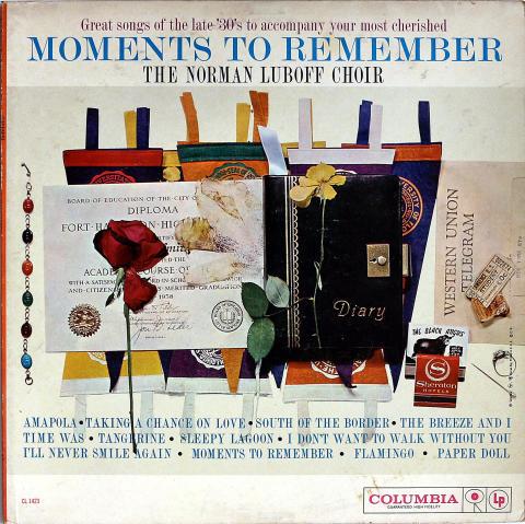 "The Norman Luboff Choir Vinyl 12"""