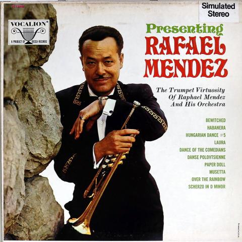 "Rafael Mendez Vinyl 12"""
