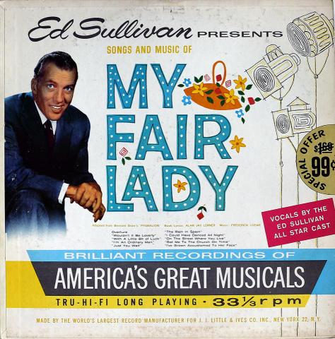 """Ed Sullivan Vinyl 12"""""""