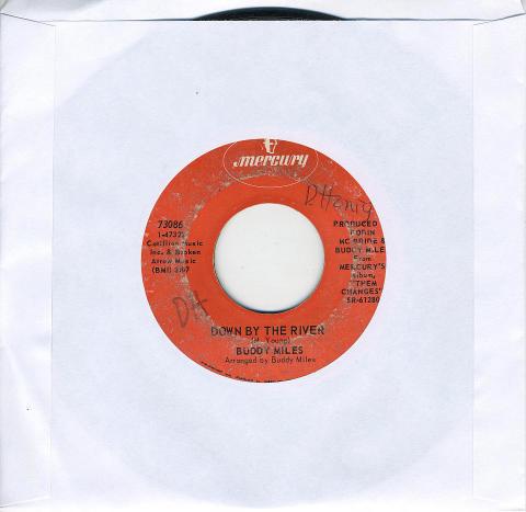 """Buddy Miles Vinyl 7"""" (Used)"""