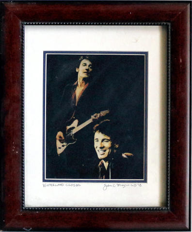 Bruce Springsteen Framed Fine Art Print