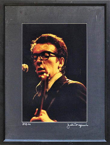 Elvis Costello Framed Fine Art Print