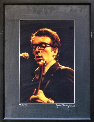 Elvis Costello Framed Fine Art Print