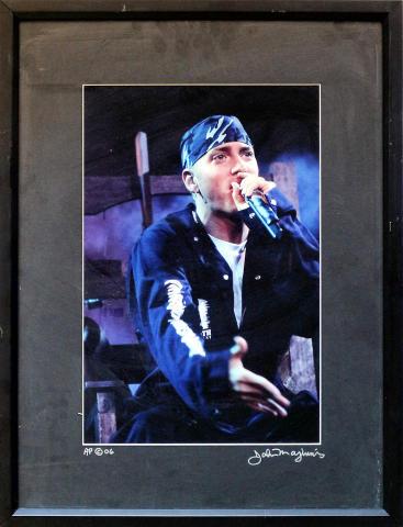 Eminem Framed Vintage Print