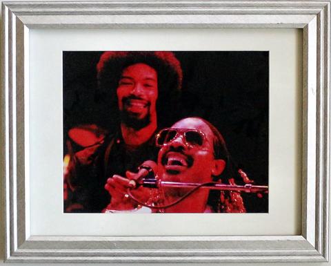 Stevie Wonder Framed Fine Art Print