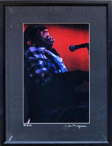 Ray Charles Framed Fine Art Print