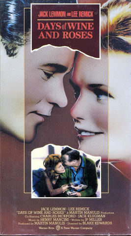 Days Of Wine And Roses VHS