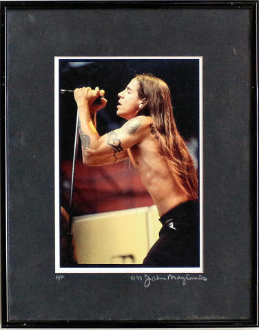 Anthony Kiedis Framed Fine Art Print