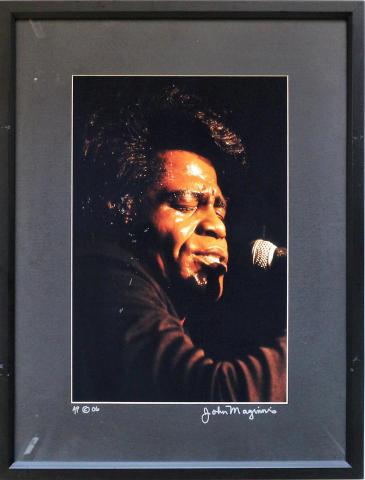 James Brown Framed Fine Art Print