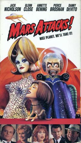 Mars Attacks! VHS