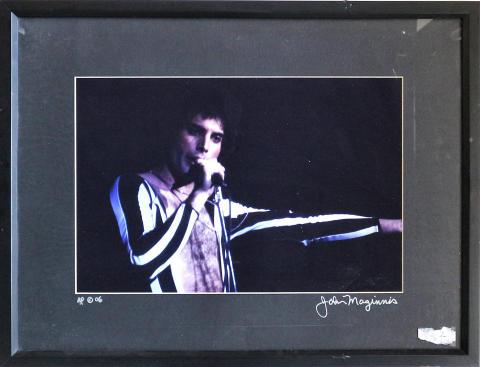 Freddie Mercury Framed Fine Art Print