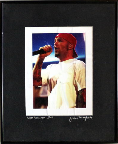 Fred Durst Framed Fine Art Print