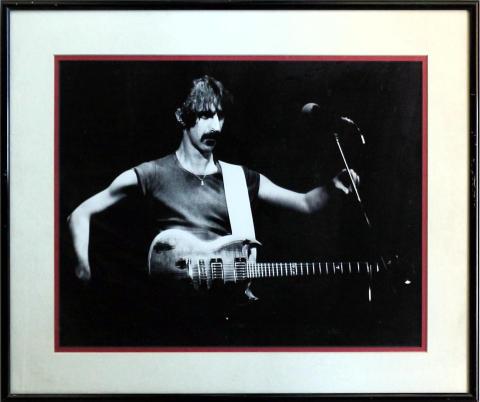 Frank Zappa Framed Fine Art Print