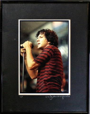 Eddie Vedder Framed Vintage Print