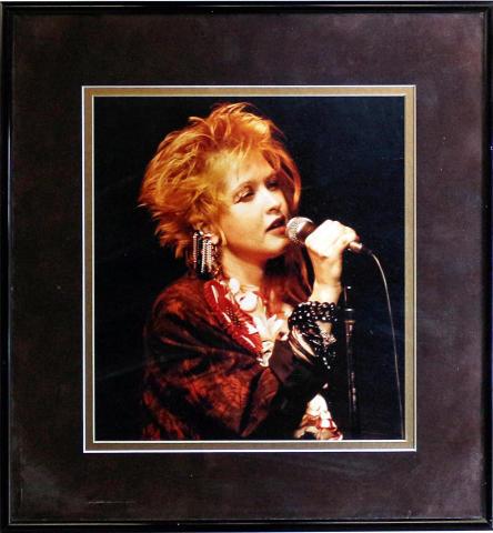 Cyndi Lauper Framed Fine Art Print