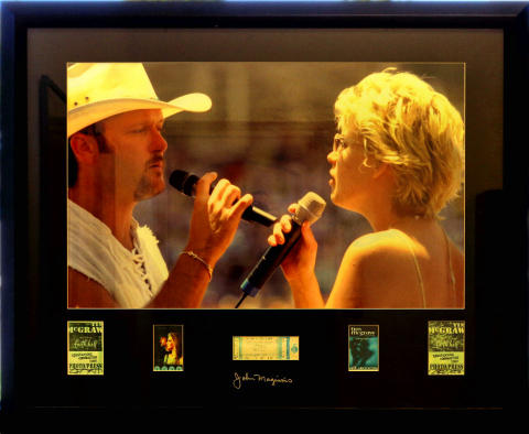 Tim McGraw & Faith Hill Framed Fine Art Print