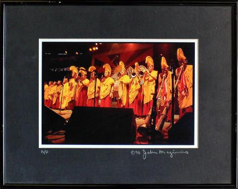 The Gyuto Monks Framed Fine Art Print