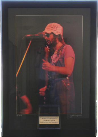Eric Clapton Framed Fine Art Print
