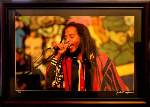 Ziggy Marley Framed Fine Art Print