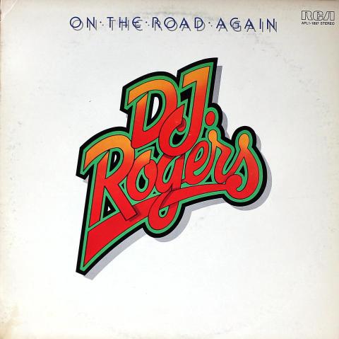 "D.J. Rogers Vinyl 12"""