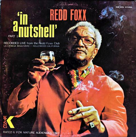 "Redd Foxx Vinyl 12"""