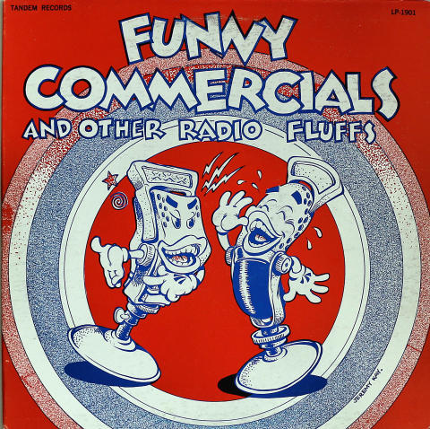 Funny Commercials and Other Radio Fluffs Vinyl 12""