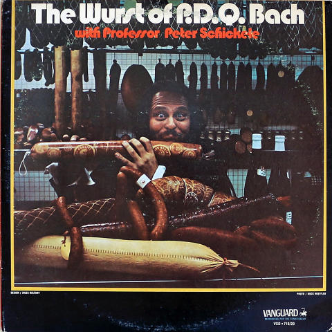 """Peter Schickele Vinyl 12"""""""