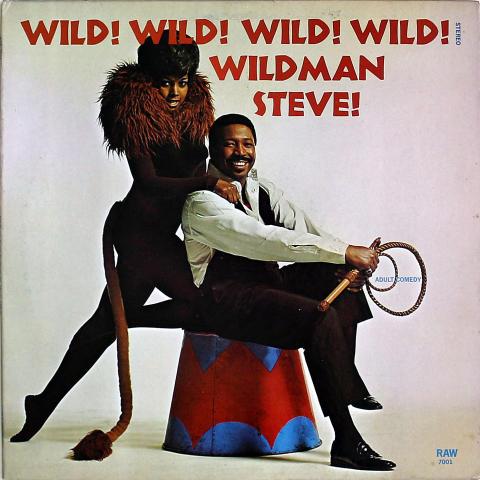 "Wildman Steve Vinyl 12"""