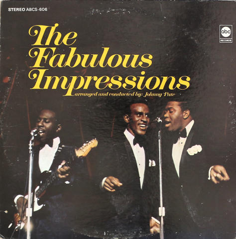 "The Impressions Vinyl 12"""