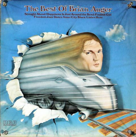 "Brian Auger Vinyl 12"""