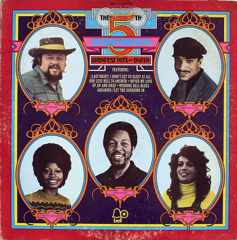 "The 5th Dimension Vinyl 12"""