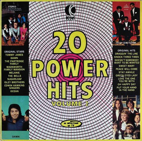 "20 Power Hits Volume 2 Vinyl 12"""